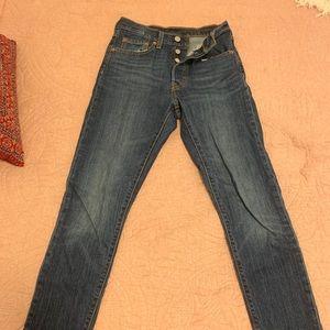 Levi's 501® Stretch Skinny Women's Jeans 24 x 28